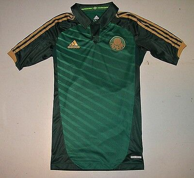 Adidas SE PALMEIRAS Spielertrikot 2012 Gr.M Brasilien player issue shirt TECHFIT