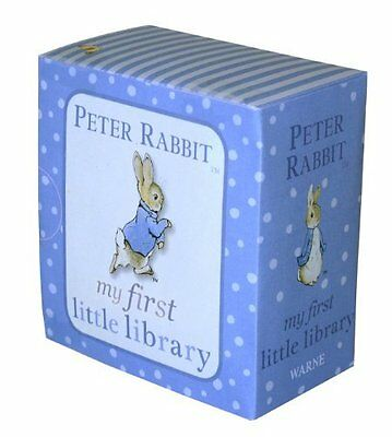Peter Rabbit My First Little Library Baby Books Little Box Gift Set