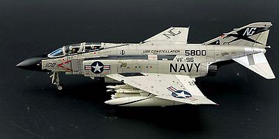 Air Commander AC1007, US Navy F-4J Phantom II VF-96 5800 USS Constellation, 1:72