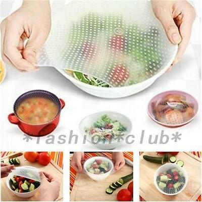 Silicone Reusable Plastic Wrap Seal Food Multifunctional Wrap Kitchen Tools