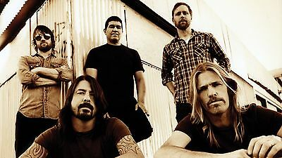 Foo Fighters Rock Metal Grunge Group Poster Dave Grohl