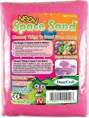 Neon Pink Space Sand: 1lb of Hydrophobic Sand