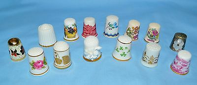 14 Thimbles - Limoges Coalport Spode Noritake JB Adams FP Royal Tara, More, Mint