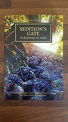 Sedition`s Gate Limited Edition Horus Heresy Novel Book Rare Oop Games Workshop