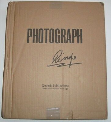 Ringo Starr's Photographs Collector Edition signed 1879/2000