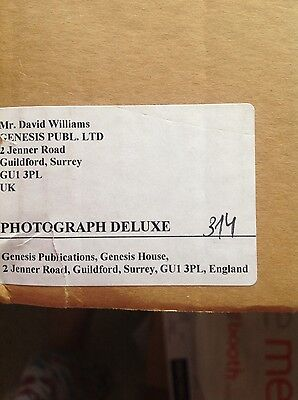 Ringo Starr's Photograph book Deluxe Edition 314/350 Signed