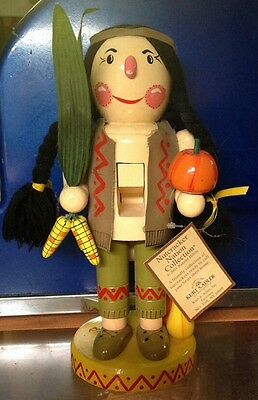 "Nanette Hilton Nutcracker Nation Collection ""Friendly Indian"" 11"" Tall"