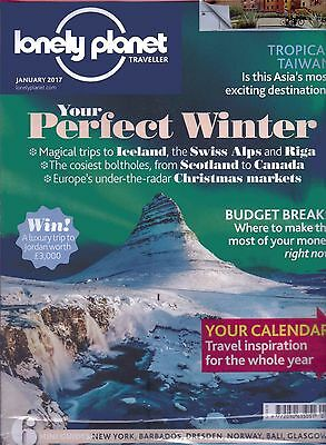 Lonely Planet Traveller Magazine - January 2017 - Issue 97