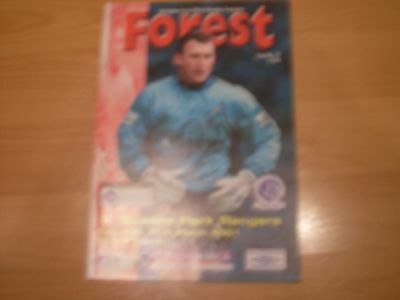 nottingham forest v q,p,r, signed on front by forest dave beasant  2000/01 seaso