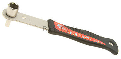Bike Hand Bicycle Crank Remover w/ 14mm Bolt & 8mm Hex Wrench YC-218 NEW