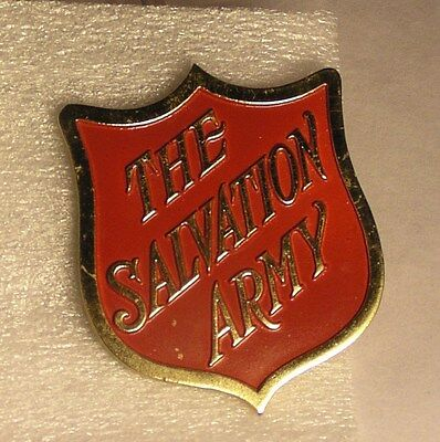 Salvation Army - RED SHIELD PAPERWEIGHT OR MEDALLION