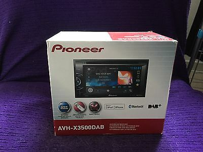 pioneer avh-x3500dab Digital Radio Car DVD System, Bluetooth iPod/iPhone USB