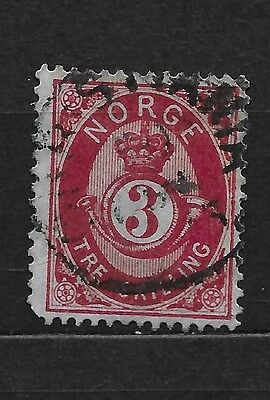 Norway Scott  18a carmine