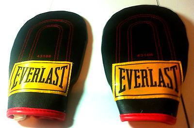 Boxing Mitts Everlast Training Gloves 43106 Speed Bag Punching Gloves