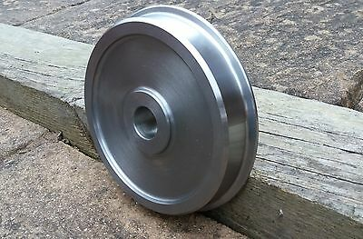 """Set of 4 x 7 1/4"""" Narrow Gauge Wheels, for live steam etc, by 17D Miniatures"""