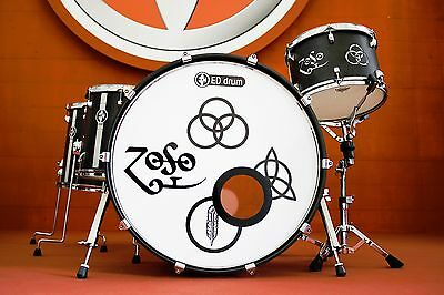 batteria ED Drum 011S4 Kit Led Zeppelin