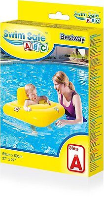Bestway Swim Safe Baby Seat Float Swimming Aid 69cm x 69cm Brand New