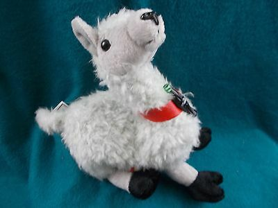 "coca-Cola plush 8"" Llama Bolivia flag 1999 coke beanie zoo animal tag protector"