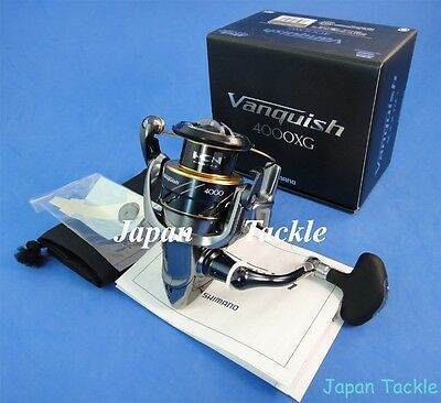 New Shimano Vanquish 4000Xg 4000 Xg Spinning Reel **free 1-3 Days Delivery**