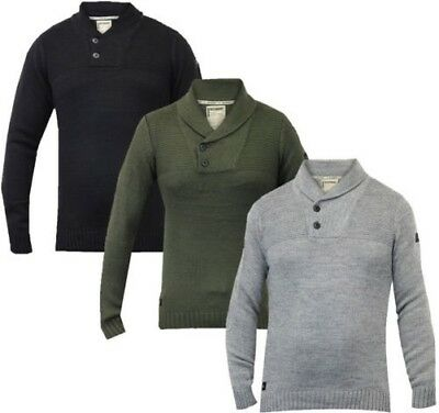 2aea7b22165 Pull homme dissidant NEUF Top tricoté pull d  Hiver Col Châle pull chaud