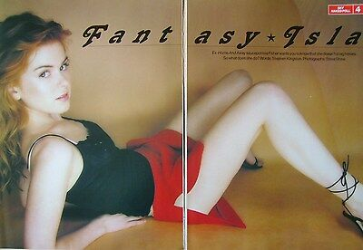 ISLA FISHER - magazine clipping / cutting from 1998