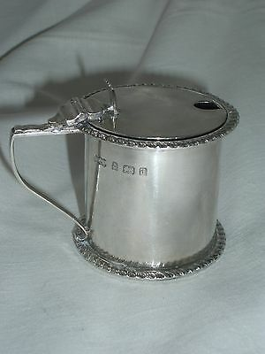 Antique Silver Mustard Pot Elkington 1903 Birmingham