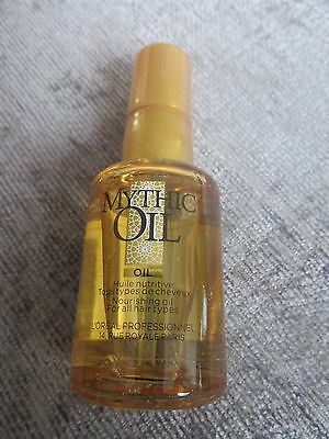 BN-L'oreal mythic oil for all hair types-30ml-i combine postage