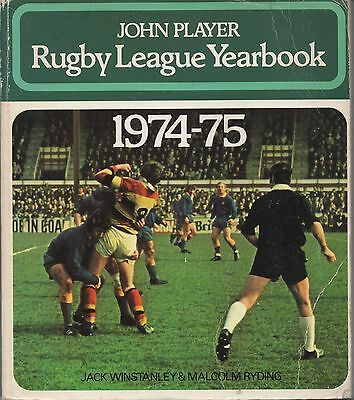 John Player RUGBY LEAGUE YEARBOOK 1974-1975