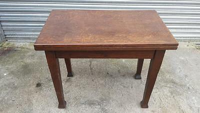 Antique Dining/Card/Games Table (Fold-out)