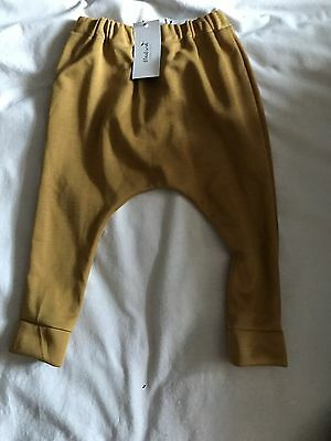 Mustard Harems Age 2-3 Brand New With Tags