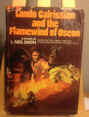 Lando Calrissian And The Flamewind Of Oseon L. Neil Smith HC/DJ STAR WARS BCE