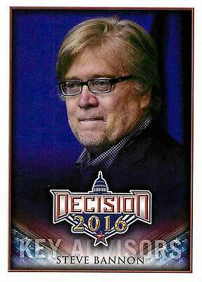 Steve Bannon 259 2017 Decision 2016 Update Key Advisors