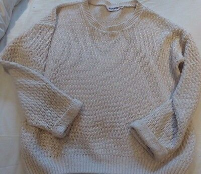 Cream jumper by New Look age 12-13