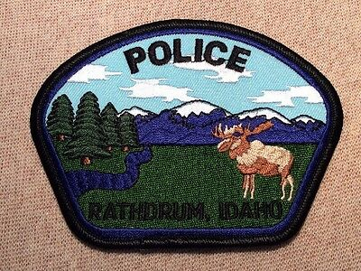 ID Rathdrum Idaho Police Patch