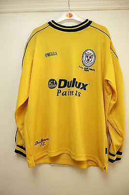 Shelbourne FC Ireland FAI Cup Final 1998 Match Worn Football Shirt
