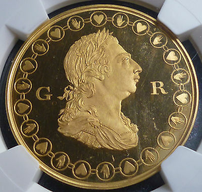 1802 Manchester & Salford Royal Light Horse Volunteers Medal NGC PF 64 UC