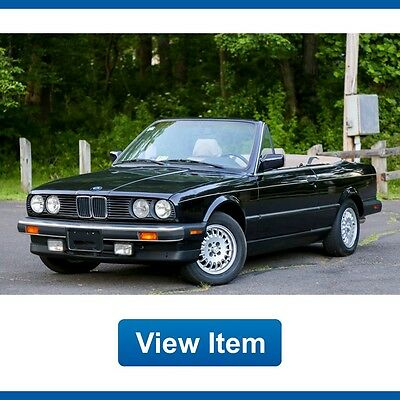 1990 BMW 3-Series Base Convertible 2-Door 1990 BMW 325i Sport Convertible Automatic Heated Seats Serviced CARFAX!