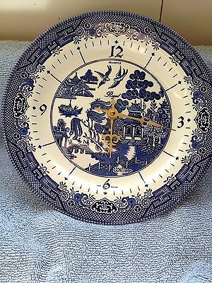 Blue Willow Clock