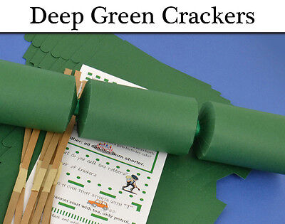 Deep Green Make & Fill Your Own Cracker Making Craft Kits & Boards