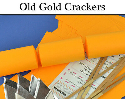 Old Gold Make & Fill Your Own Cracker Making Craft Kits & Boards