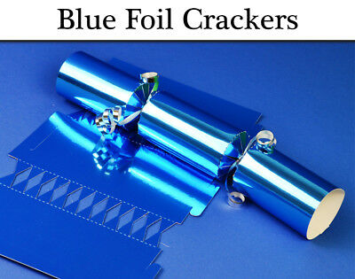 Blue Foil Make & Fill Your Own Cracker Making Craft Kits, Boards & Accessories