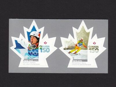 ca. CANADA 150 Celebration OLYMPIC, PARALYMPIC GAMES BKL stamps, MNH Canada 2017