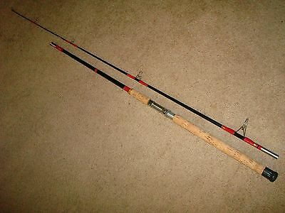 Vintage Dyna Flex CG 109 Med/Hvy 9' Surf Spinning Rod made in USA