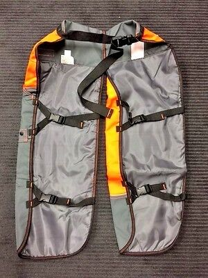 """Husqvarna XP PRO-TECT Chainsaw Protection Safety Chaps 585488002 36"""" To 38"""""""