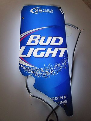 Bud Light California Can Ice Cold Back Lit Neon Beer Sign Replacement Part HH38