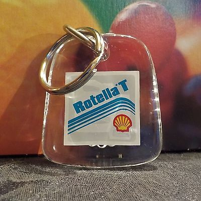 Shell Oil Keychain Rotella T Bottle Opener