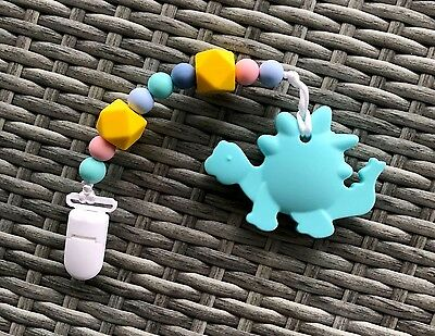 Silicone Sensory Teether BPA-Free Pacifier Nursing Accessories Baby Shower Gift