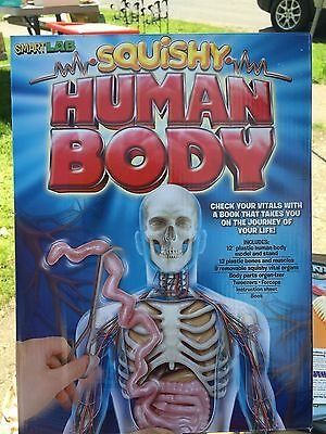 Used SmartLab Squishy Human Body Take a tour of the Body From the Inside Out