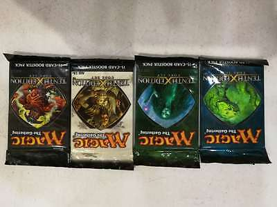 MTG 10th Edition Booster Pack sealed, new x4