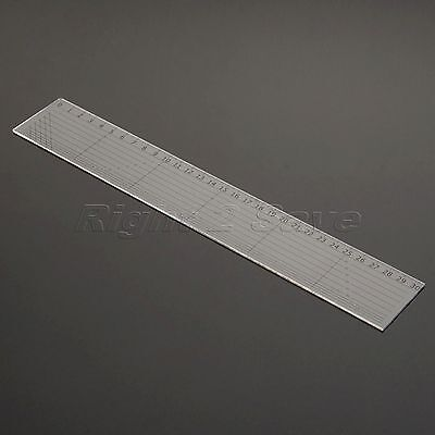 30x5cm Sewing Quilting Patchwork Ruler Easy Mark Grid Cutting Tool Tailor Scale